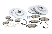 Audi VW Brake Kit - Zimmermann/Akebono 100335520KT2