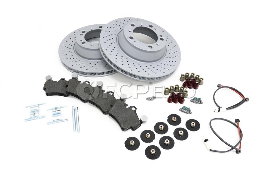 Porsche Brake Kit - Zimmermann/Textar 997BRKT14