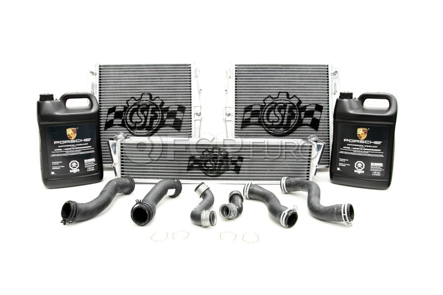Porsche Radiator Kit - CSF/Genuine Porsche 7049KT