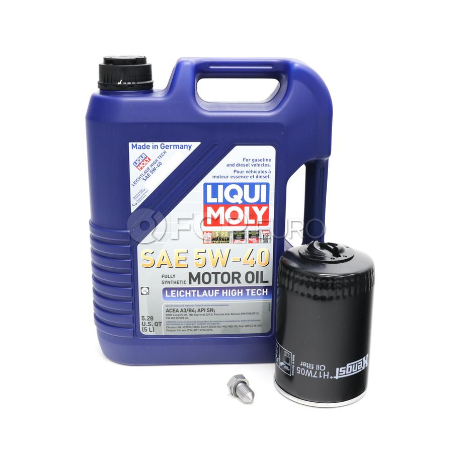 VW Audi Oil Change Kit 5W-40 - Liqui Moly KIT-068115561B.5L