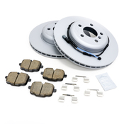 BMW Brake Kit - Zimmermann/Akebono 34216775289KTR4