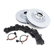 Audi VW Brake Kit - Zimmermann/TRW 7L8615301KT3