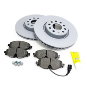 Audi VW Brake Kit - Zimmermann KIT-534898