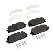 Audi Brake Pad Set - Textar 4M0698151BD
