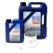 Volvo Oil Change Kit 5W40 - Liqui Moly 3517857KT8