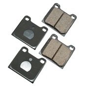 Volvo Brake Pad Set - Akebono 271586