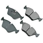 BMW Brake Pad Set - Akebono EUR946