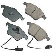 Audi VW Brake Pad Set - Akebono EUR1111