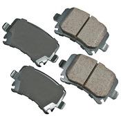Audi VW Brake Pad Set - Akebono EUR1348