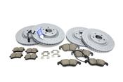 Audi Brake Kit - Zimmermann/Akebono 100335652KT2