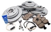BMW Performance Brake Kit (E39 530i 540i) - Zimmermann/Akebono 34116767059KTFR4