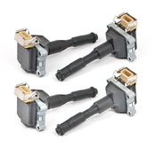 BMW Ignition Coil Kit (Set of 4) - Bosch 00083X4